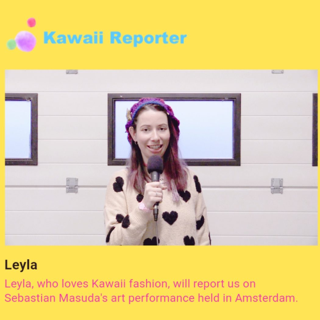 Kawaii Reporter Leyla