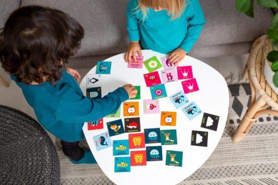 Maxomorra matching game